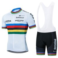 2021 Takım Hızlı Adım Bisiklet Jersey Şampiyonu Bisiklet Şort 20D Bib Set Ropa Ciclismo Mens MTB Yaz Pro Bisiklet Maillot Alt Giyim