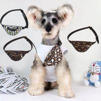 Classico Designer Designer Abbigliamento per cani Abbigliamento Fashion Creativity Leisure Small Dogs Messenger Bag Casual Outdoor Sport Lettere Stampa Zaini per carrozzeria Pet Body