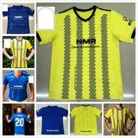 Реальные футболки Oviedo Soccer IBRA R.FOLCH Y.Barcenas johannesson Mossa Javi Munoz Custom 20 21 Домашний мужские Мужские футболки