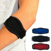Elbow & Knee Pads Adjustable Safety Nylon Elastic Brace Sleeve Basketball Tennis Pain Protection Sport Gym Drop Whosale