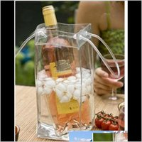 Seaux et refroidisseurs Barware Cuisine, Bar à manger Home Jardin Drop Livraison 2021 Vin de bière Champagne Bucket Boisson Sac de glace Bouteille de refroidisseur