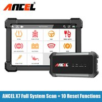 Diagnosis Tool Wireless Automotive Scanner SRS DPF Battery Oil Reset Multi Languages OBD Diagnostic Bluetooth ANCEL X7 Tools