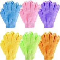 Cloth Bath Glove Moisturizing Spa Skin Baths Shower Gloves Wash Scrubber Back Scrub Towel Scrubs Body Massage Sponge Bath-Gloves For Kid Woman Home Use