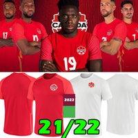 Tayland 21/22 Kanada Futbol Formaları Ulusal Takım Eve Uzaktan Kitleri 2021 Davies David Larin Cavallini Laryea Millar Hoilett 2022 Lates Erkekler Jersey Futbol Gömlek S-2XL