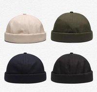 2021 Sombrero de primavera y otoño niña retro piel pura amantes de la calle Hip Hop Man Painter Hats Melon Caps
