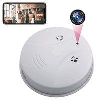 Mini Kameralar HD 1080 P WiFi Kamera Gece Görüş Ile Duman Dedektörü Hareket Algılama Dadı Cam Video Kaydedici Güvenlik Ev Ofis