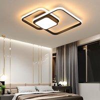 نوم ضوء السقف مصباح الحد الأدنى الحديثة أبيض أسود غرفة الطعام دراسة الأثاث المطبخ الإبداعية ديكور المنزل الصمام تركيبات الإضاءة R272