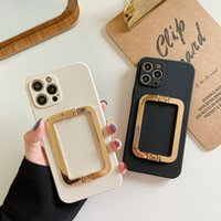 Kickstand Shockproof Phone Cases Anti-Falling Holder case Anti-fingerprint Soft TPU Covers For iPhone 12 11 Pro Max XS XR 7 8