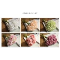 Silk Peony Bouquet Home Decoration Accessories Wedding Party...