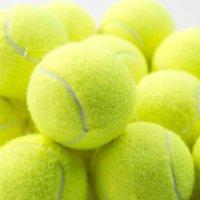 1 قطع المهنية معززة المطاط التنس الكرة امتصاص الصدمات مرونة عالية الكرة التدريب دائم التدريب المدرسي النادي
