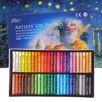 48 cores pastel de óleo para artista estudante graffiti seco pintura pastel desenho caneta escola papelaria arte suprimentos macio crayon conjunto