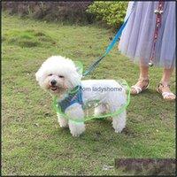 Dog Supplies Home & Gardendog Outerwear Umbrella Clear Raincoat Apparel Clothes Water Ressistant Jacket Rain Suit Fleece Pet Dogs For Sale D