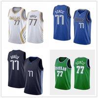 2021 Basketball Jersey77 Luka Doncic