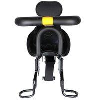 Sillín de bicicletas Asiento para niños con asa Liberación rápida Seguridad delantera ajustable para la carretera MTB plegable eléctrica (BL