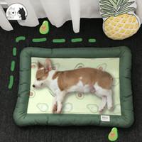 Cat Beds & Furniture Four Seasons Avocado Bed Soft Comfortable Cartoon Dog House Washable Sleeping Bag Breathable   Small Medium Dogs Cushio