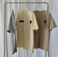 Üç parti imzalı 3 M Yansıtıcı ESS Mens ve Bayan Tees Polos Moda Kısa Kollu Eğlence T-shirt Trendleri Tasarımcı Jogger Şort