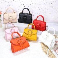 Teenage Girls Handbags Kids Bag Girl Bags Childrens Accessories Mini One-Shoulder Fashion Leather Handbag Purses B6795