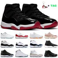 Men Basketball Shoes sneakers 11s Bred 25th Anniversary Conc...