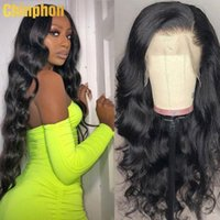 Lace Wigs Brazilian Body Wave Human Hair Glueless 13x4 Frontal Wig With Baby Swiss 150% Free Part