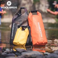ROCKBROS 20L Sport Swimming Bag PVC Waterproof Backpack Fashion Bags for Women Men Sports Outdoor Hiking Shoulder Folding Pouch
