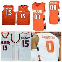 NCAA College Syrakuse Orange Basketball-Jersey 10 Howard Washington 11 Joseph Girard III 12 Brendan Paul 13 Chris Lavalle Custom genäht