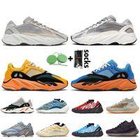 adidas yeezy boost 700 Kanye West 700 mnvn Uomo Scarpe Nero Arancione Womens corridore dell'onda solide grige Esecuzione 700 Magnet vanta Sneaker Sneakers