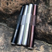 Tuyaux de fumer Sniffer Pen Style Style Snaff Snorter Distributeur Metal Sunff Tuyau Tuyau Tube Tuyau de fumée