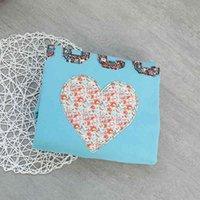 사랑 겨울 G 꽃 편지 자수 둥근 목 두꺼운 봉제 조수 브랜드 느슨한 따뜻한 스웨터 T 여성