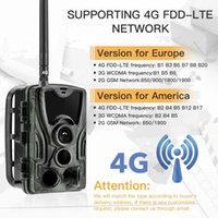 LTE 4G Cellular Trail Cameras Outdoor WiFi Full HD Wild Game Camera with Night Vision for Deer Hunting Security Wireless Waterproof and Motion Activated