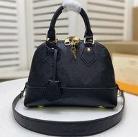 Sacos de designer de luxo M44829 Neo Alma BB Embossed couro moda mulheres negócios bolsa de bolsa de bolsa de corpo de ombro alça de bolsa