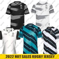 NUOVO 2021 Fiji Rugby Jersey Casa Away Flying Fijians 2020 Polo Shirt National Rugby League Camicia Fidji Sevens Jersey Dimensione S-5XL