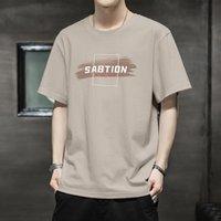 T-shirt gioventù del nuovo cotone dei vestiti di cotone degli uomini coreani del 2021