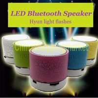 Wireless Mini Portable LED Bluetooth Speakers A9 Handsfree Wireless Stereo Speaker FM Radio TF Card USB For iPhone Mobile Phone Computer