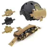 Outdoor Airsoft Paintball Shooting Tactical Fast Helmet Accessory Accessory Kit contrappeso Bilanciamento Borsa per il casco NO01-167