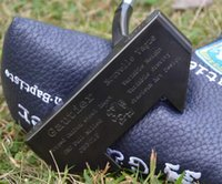 Golfclubs Jean Baptiste Gautier JB301P Putter schwarz 33/34/35 Zoll Stahlwelle mit Kopfbedeckung Fast Complete Set von 1