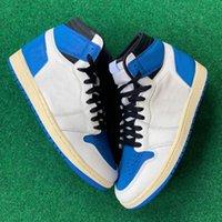 chaussures pour hommes de basket-ball 1s UNC Obsidian Ture vert torsion Cour mauve fumée sport femmes gris formateurs extérieur de la mode