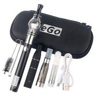 Hotsale 4 em 1 Multi Vape Pen Starter Kits para Seco erva cera Dab espesso óleo eliquid ego ugo v ii 4in1 kit de vaporizador de e-cig autêntico