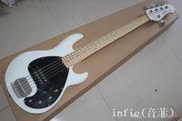 Yeni Fabrika Ernie Ball Müzik Adam Stingray Sunburst Elektrik Bas 5 Dize Musicman 9 V Aktif Pickup Musicman Bas Gitar