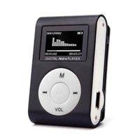 مصغرة USB كليب مشغل MP3 شاشة LCD دعم الموسيقى 32 جيجابايت الموسيقى اللعب مع FM راديو الفيديو المدمج في ذاكرة MP4