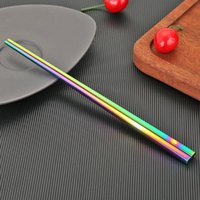 Chopsticks Stainless Steel Environment-friendly Portable Students Tableware Creative And Unique Household Kitchen Projects