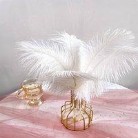 Перы страуса от 10 до 12 дюймов или от 25 до 30 см натуральные перья страуса для украшения свадьбы ручной работы перья