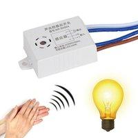 Doorbells Module 220V Détecteur Son Sensible Capteur Voix Intelligent Auto ON OFF Light Smart Interrupteur pour l'entrepôt de bains de corridor