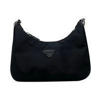 Siyah Naylon Omuz Messenger Çanta Kadınlar için Çanta Hobo Tasarımcı Mini Cep Lüks Marka Kadın Crossbody
