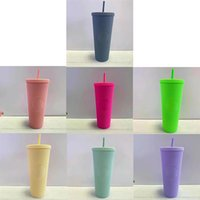 Starbucks Water Bottle Tumblers Black Bling Bright Cup Durian Straw Tumbler Plastic Cold Water Colorful Coffee Cups Creativity Birthday Gift Mug
