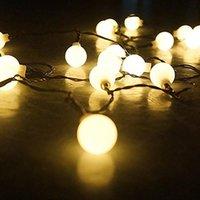Parti Dekorasyon LED Işık Düşük Basınçlı 10 M 100 Lamba Küçük Topu İç Perde Noel Ev Dekor için May31