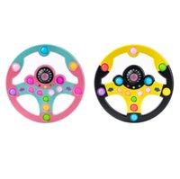Giocattolo di simulazione per bambini Giocattolo Giocattolo Puzzle Copilota Volante Push Bubble Colore Cucitura Decompressione Giocattoli Decompressione Tablet per bambini Giochi di apprendimento 2color G61eF51