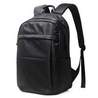 Backpack 15 Inch Laptop Backpacks Men Nylon Waterproof Male Easy Travel Teenage School Bag Business USB Charger Shoulder