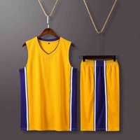 Tracksuit Sport Suit a Lakers Bryant Adult and Children's Basketball Men's Women's Light Version Primary School Student Jersey