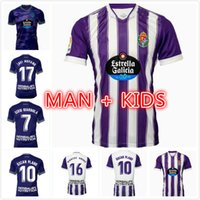 Homens Kit Kit 2021 2022 Real Valladolid Futebol Jerseys 21 22 fede S. R. Alcaraz Oscar Plano Camisetas Sergi Guardiola Futebol Camisas