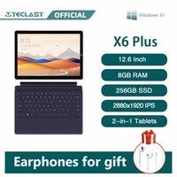 Teclast X6 Plus Notebook 2 In 1 Tablet 12.6 Inch Touch Screen Windows 10 RAM 8GB 256GB SSD Intel N4100 2880×1920 IPS USB3.0 PC
